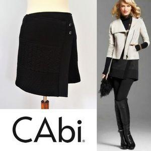 Cabi Asymmetrical Black Skirt #926